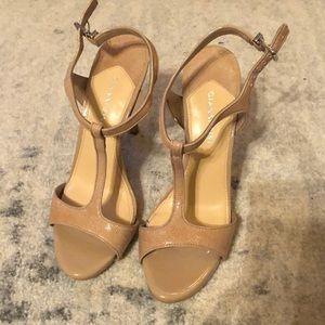 Gianni Bini Nude Strap Sandal
